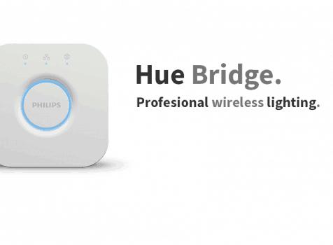 Philips Hue Bridge  – Wall Mount V2.0