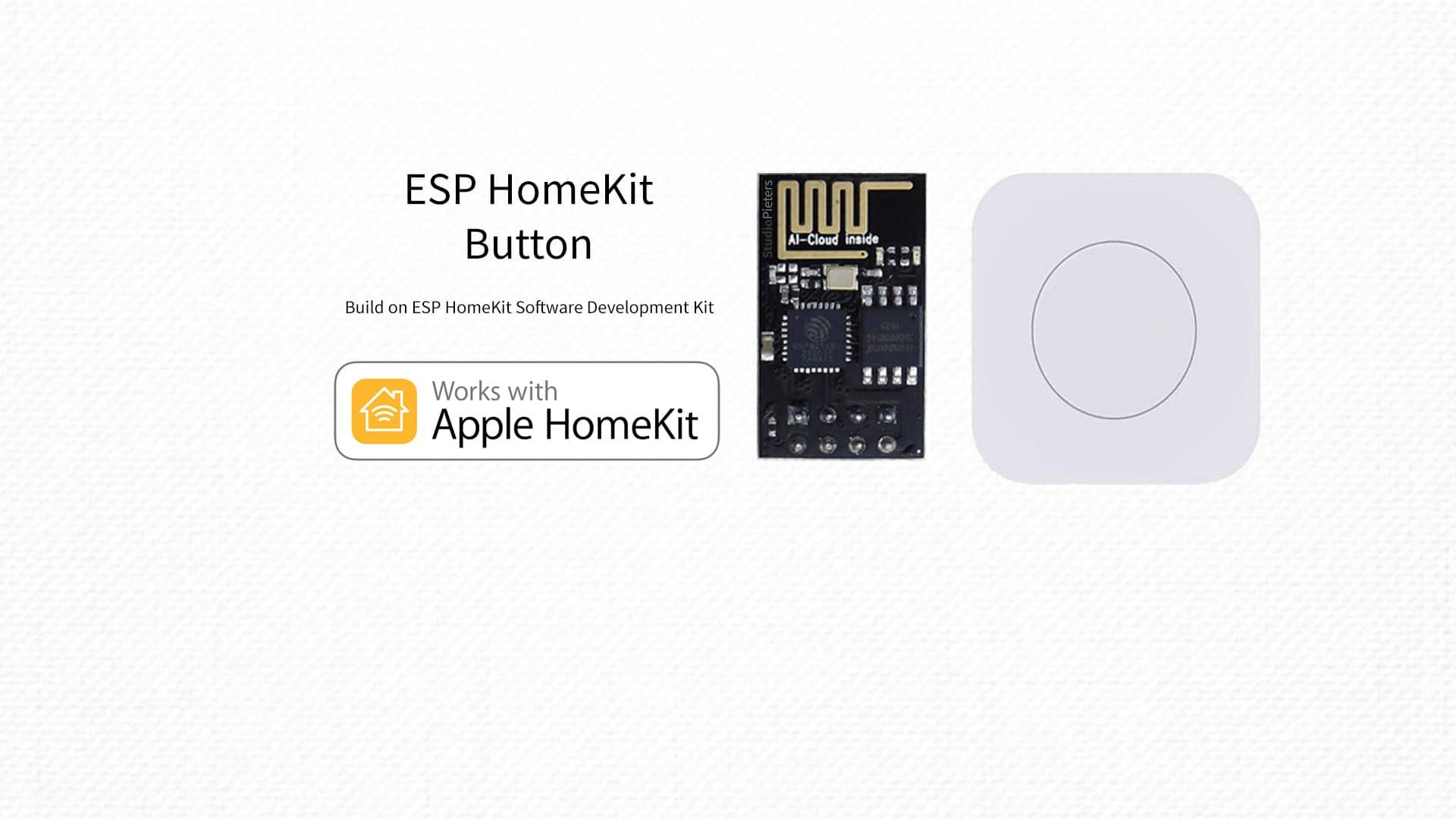 ESP8266 – HomeKit Button