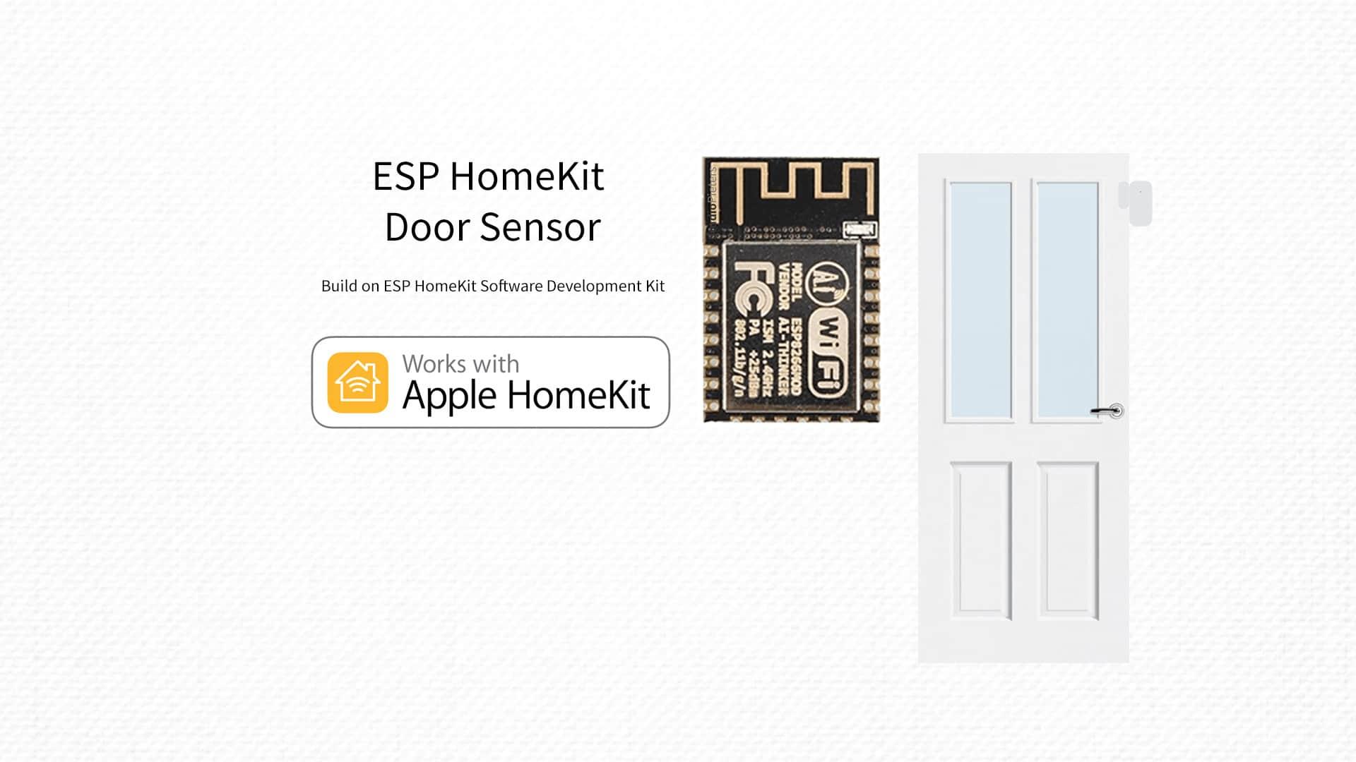 ESP8266 – HomeKit Door Sensor