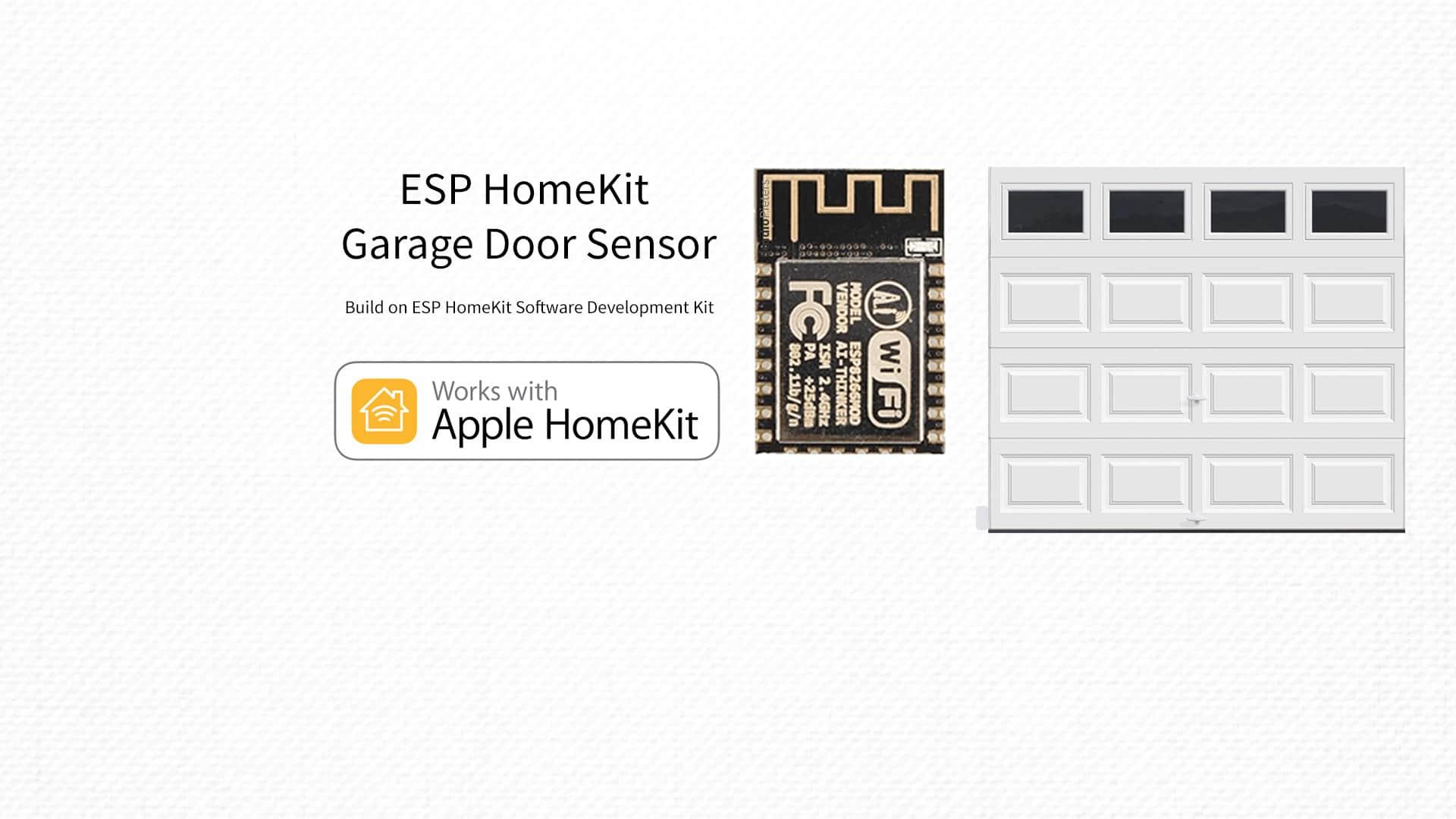 ESP8266 – HomeKit Garage Door Sensor