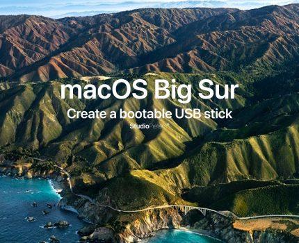 macOS – Big Sur Bootable USB