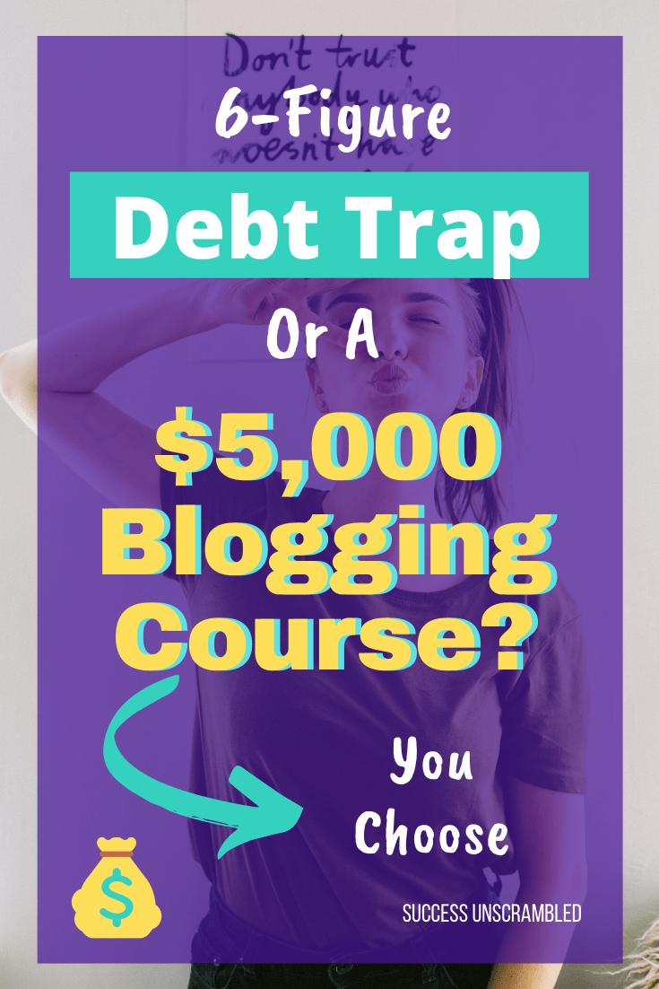 5000 Dollar Blogging Course