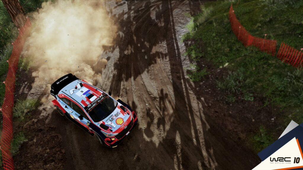 WRC 10 -rallipelin Akropolis-rallissa koetaan vauhtia ja hurjia tilanteita