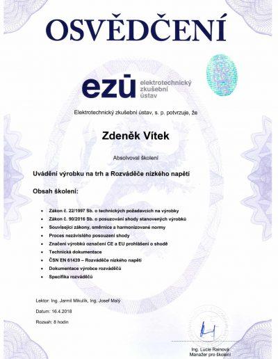 EZÚ-Zertifikat