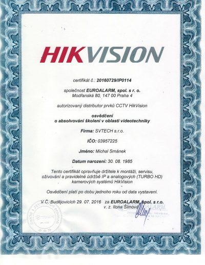 HIKVISION-Zertifizierung