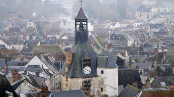 Amboise clock tower