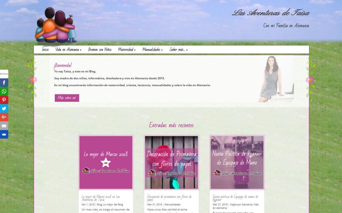 Diseño de un blog de maternidad