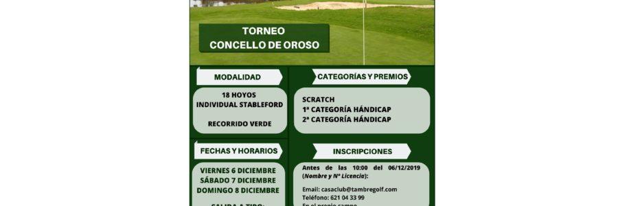 TORNEO CONCELLO DE OROSO