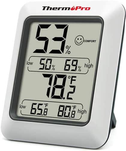 Termómetro ambiental higrómetro thermpro-TP50