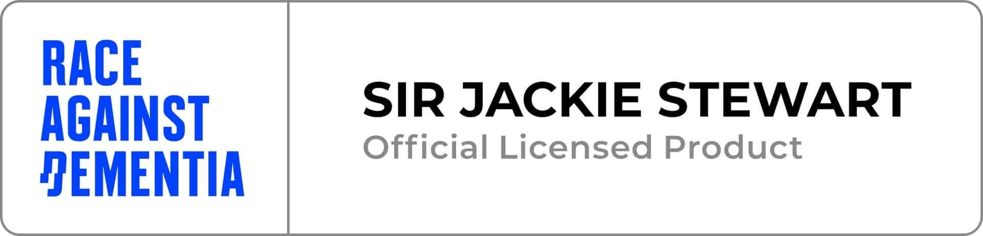 sir jackie stewart licenced poster