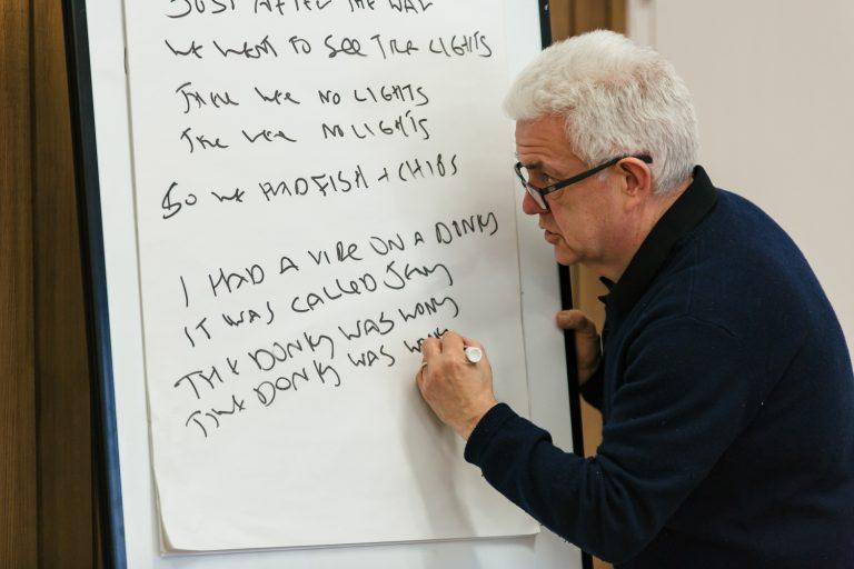 Ian McMillan's darts at 30 poem