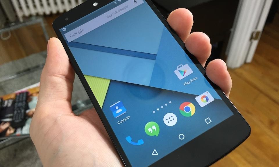 Android 5.0 Lollipop update