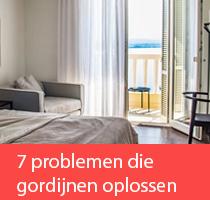 7 problemen die gordijnen oplossen