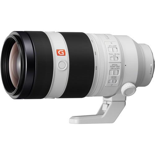Sony FE 100-400mm f/4.5-5.6 GM OSS   Meilleurs objectifs recommandés pour le Sony a7R IV