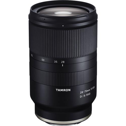 Tamron 28-75mm f/2.8 Di III RXD   Meilleurs objectifs recommandés pour le Sony a7R IV
