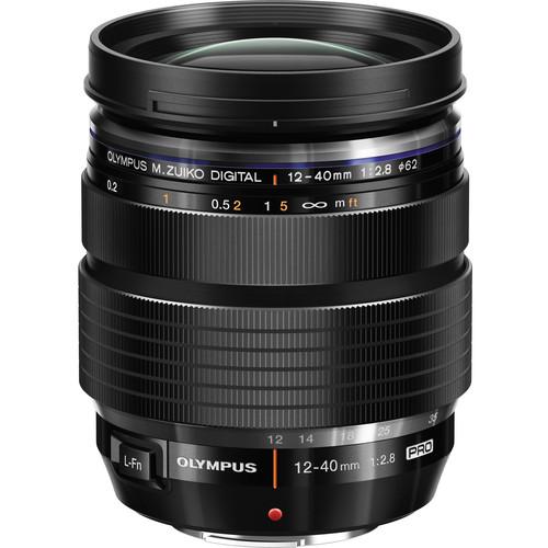 Olympus 12-40mm f/2.8 Pro meilleur objectif zoom pour olympus OMD EM1 Mark III