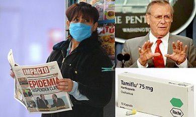 Gripe porcina y Donald Rumsfeld