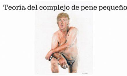 Complejo de pene pequeño Donald Trump