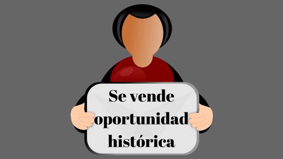 Se vende oportunidad histórica razón PSOE