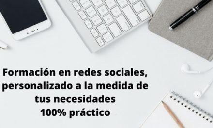 Formación en redes sociales