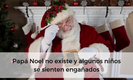 Papá Noel no existe y algunos niños se sienten engañados