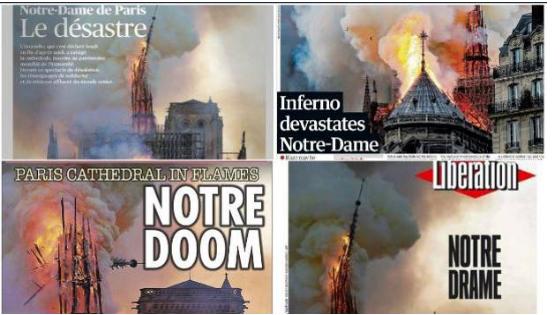Notre Dame se incendia en Semana Santa