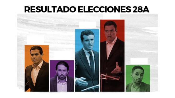 Pedro Sanchez gana las elecciones 28A