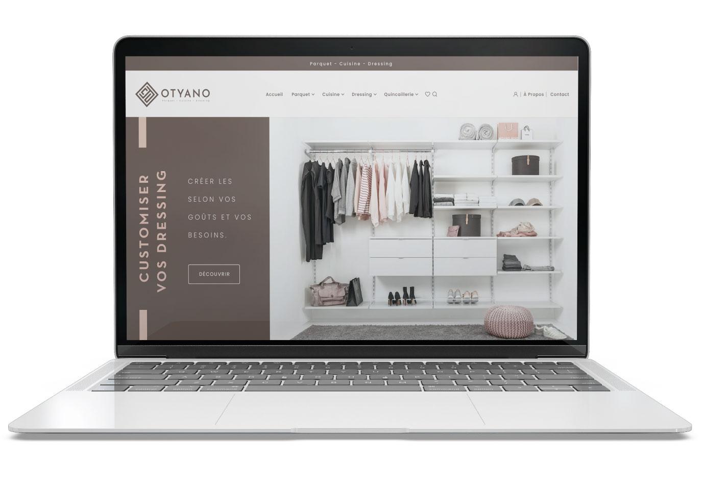 Otyano-Site-web-agence de communication-vuenova