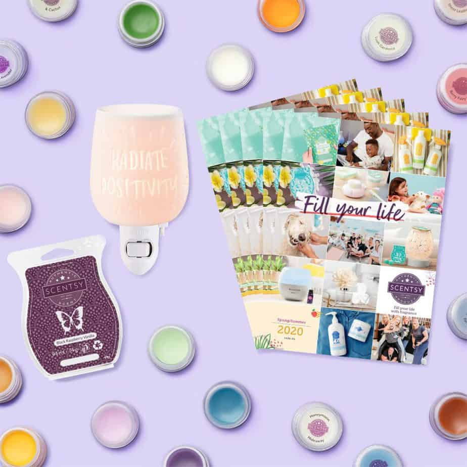 Start your Scentsy business for£24/€29 ONLY in May