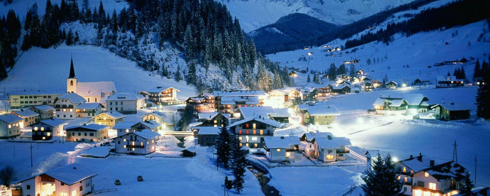 Skidorpen Oostenrijk
