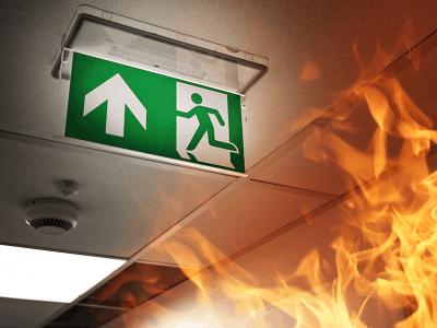 Lead Bild Brandsicherheit in Gebäuden
