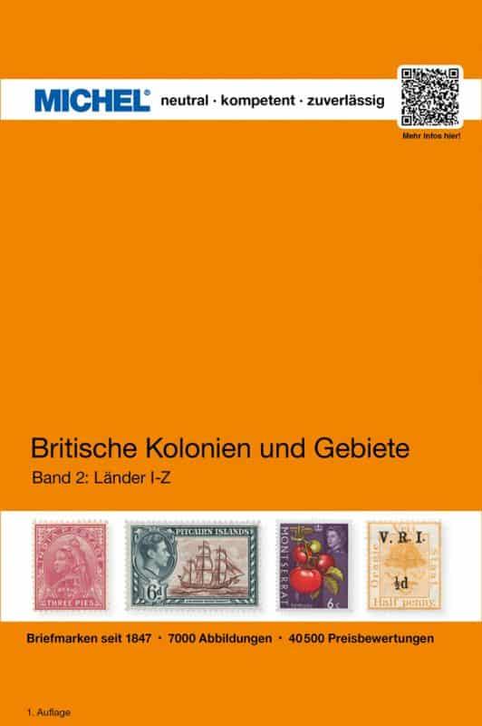 Michel Britische Kolonien und Gebiete, Band 2: I-Z