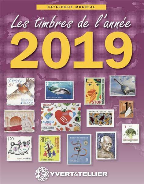 Yvert & Tellier – The world stamp catalog of the year 2019