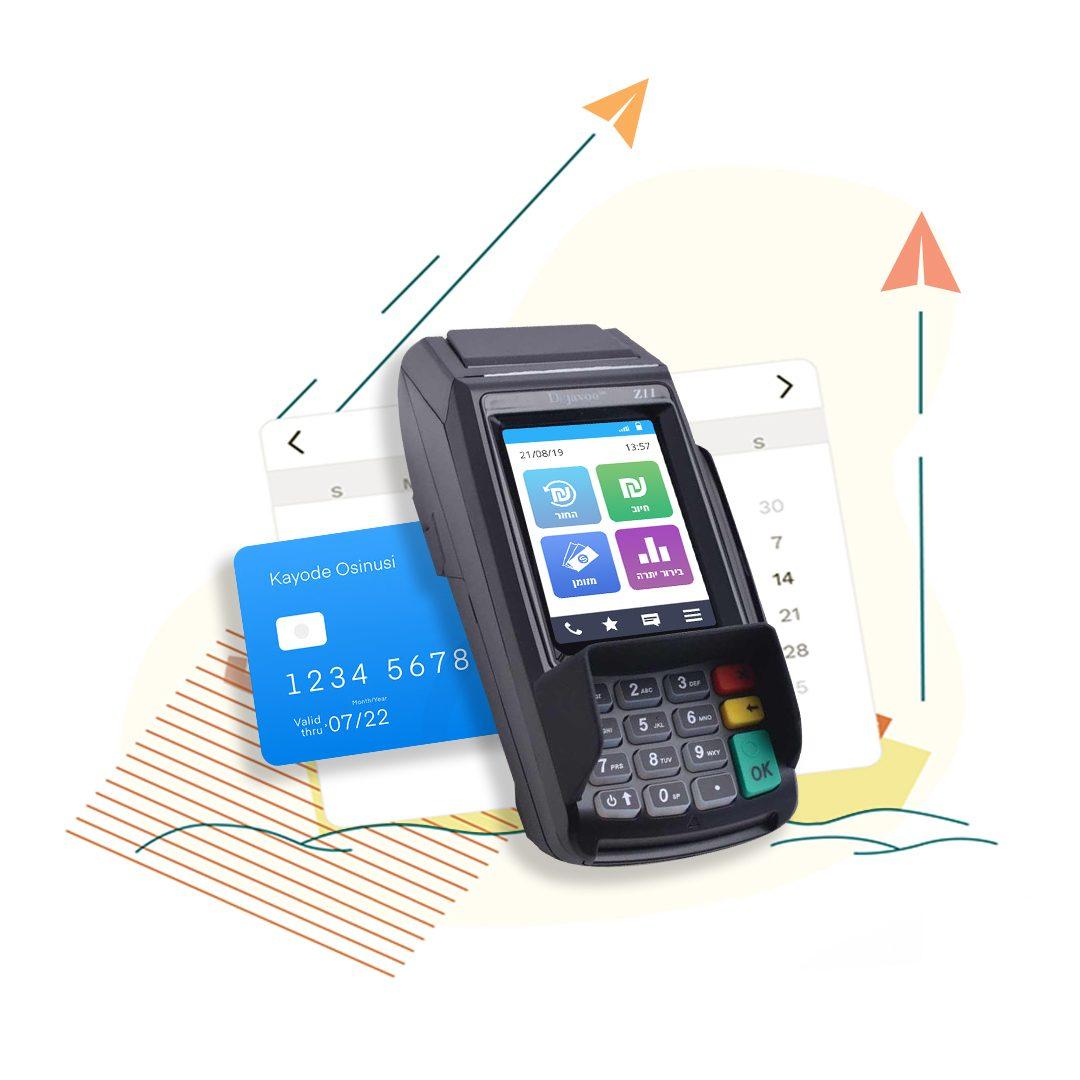 Z11 - מכשיר סליקת אשראי נייח לביצוע עסקאות אשראי