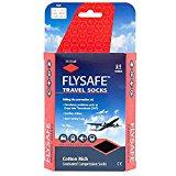 HJ747 | Flysafe Compression Travel Socks | DVT Prevention | Cotton Rich Cooling Large | 9 - 12 UK | 43 - 47 EU