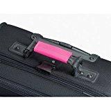 Lewis N. Clark Luggage Identifiers Handle Wraps/3 Pack (Pink)