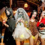 Make up vui chơi Party Halloween ở Cocobeach Camp Lagi