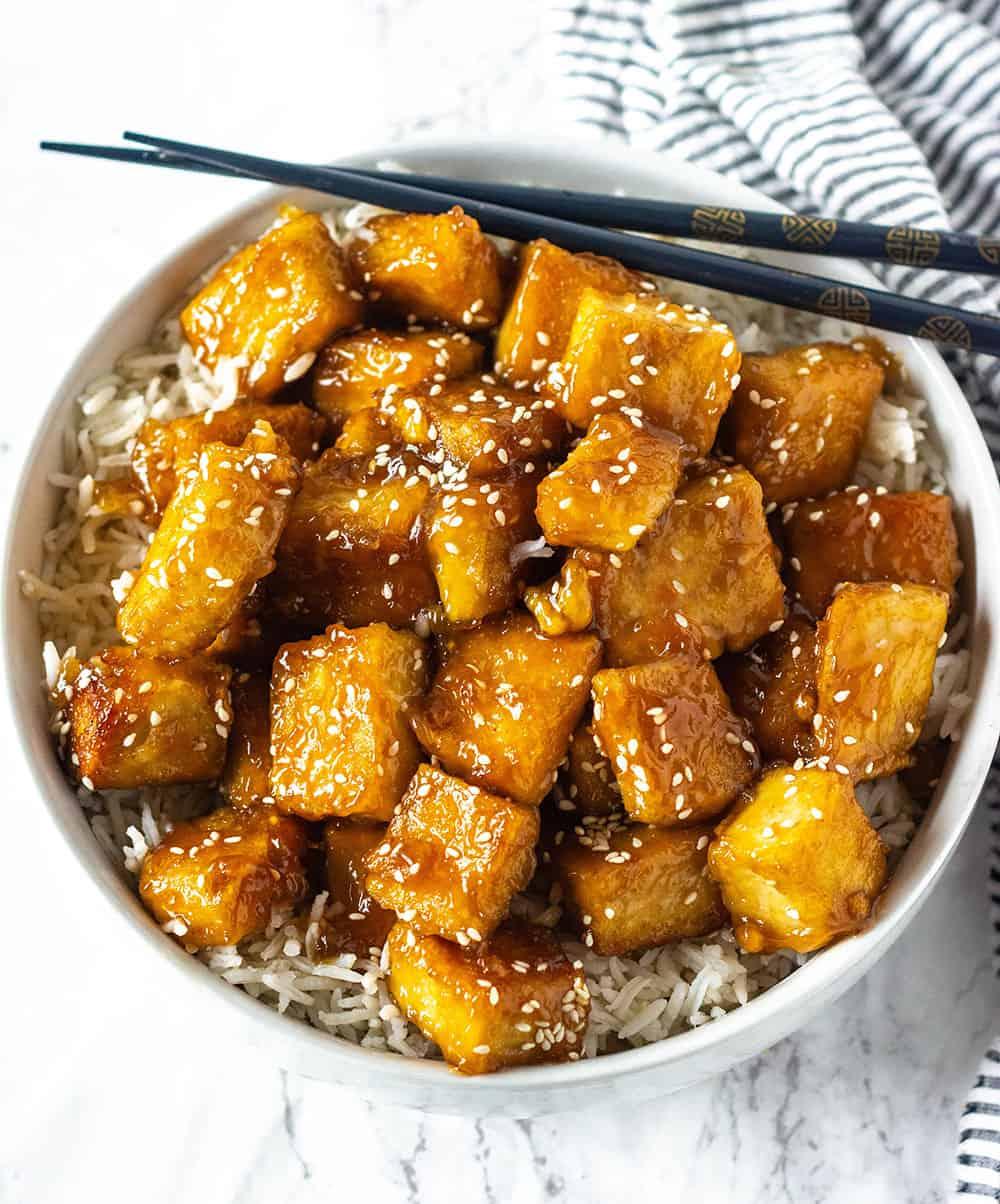 Best Sesame Tofu Recipe