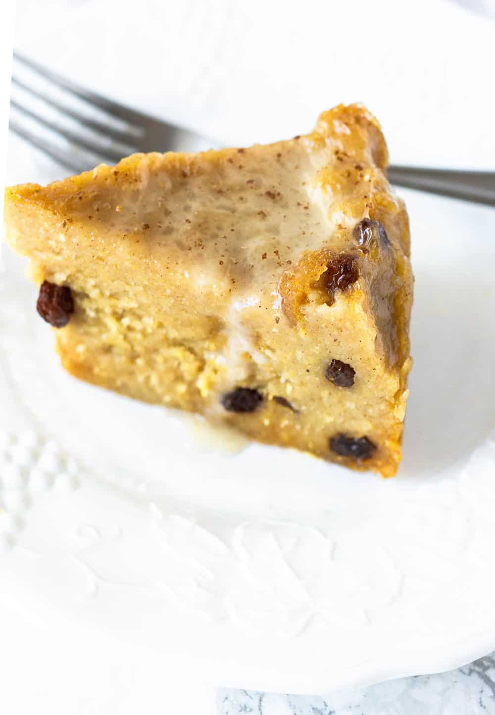 Jamaican Cornmeal Pudding Slice