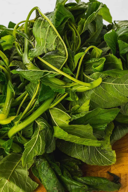 Jamaican Callaloo Greens