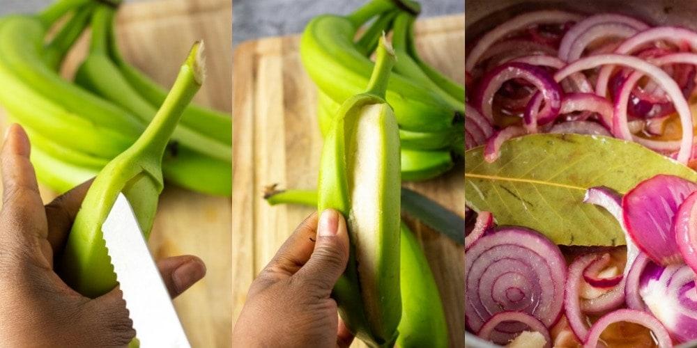 How to make guineos en escabeche