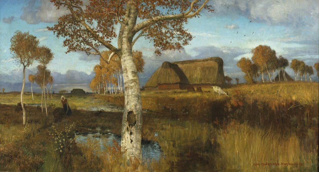 Otto Modersohn, Autumn on the Moor, 1895