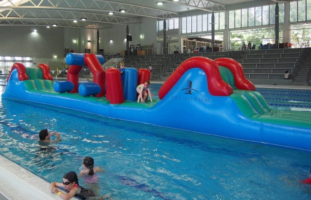 The Forum Swim Parties