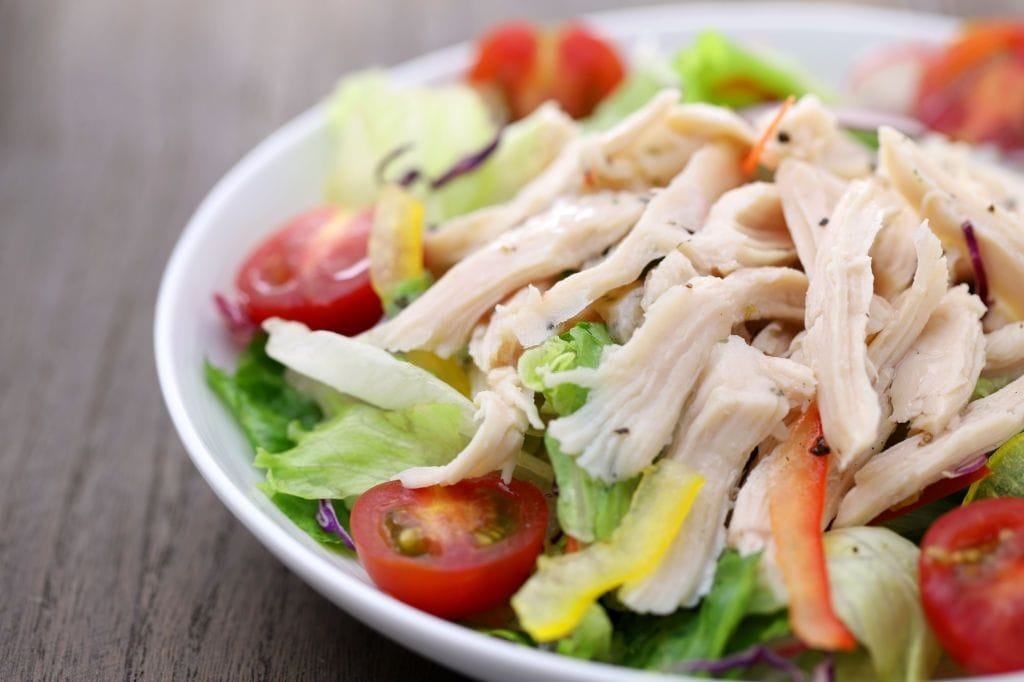 can i eat chicken salad while pregnant