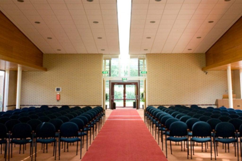 Dienstruimte in crematorium Drachten
