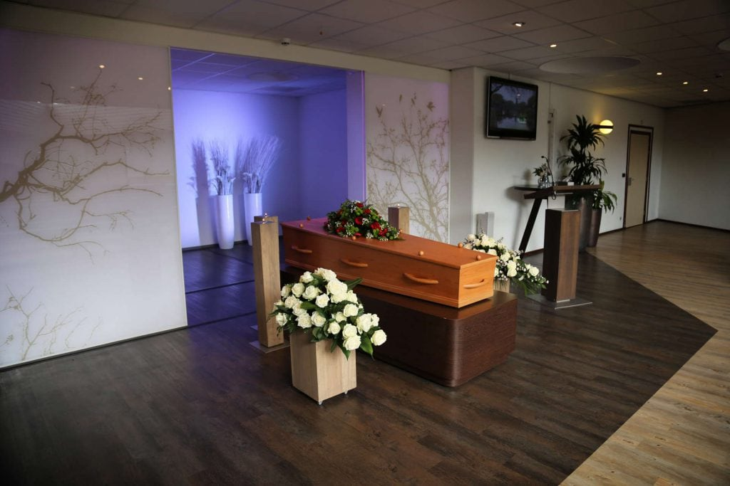 Crematorium Schiedam grafkist