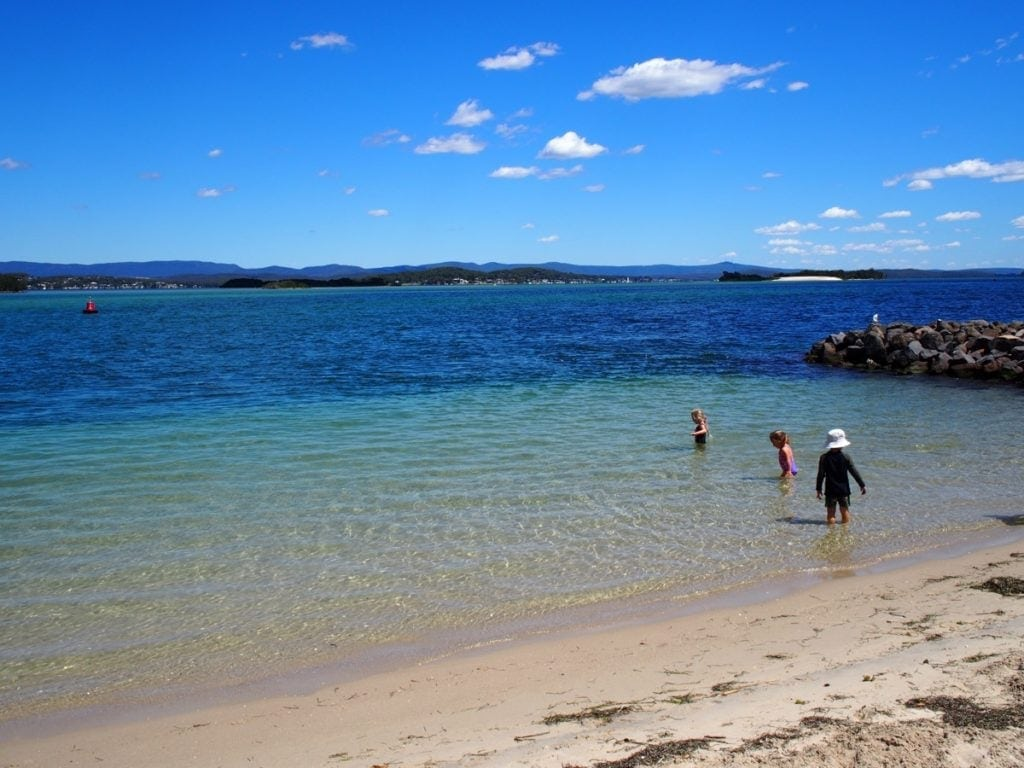 Pelican Beach Lake Macquarie