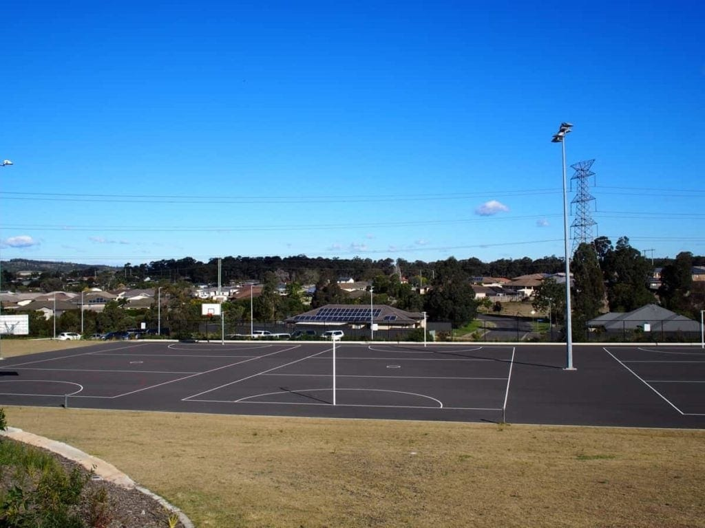 pasterfield complex Basketball Court