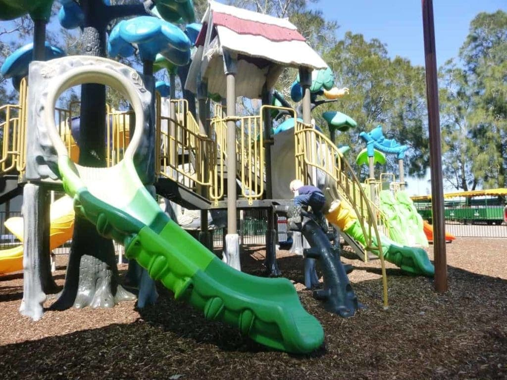 Oakvale Wildlife Park Play Area