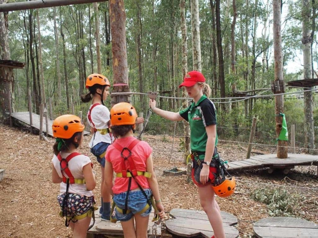 TreeTops Adventure Park Kids Gearing Session
